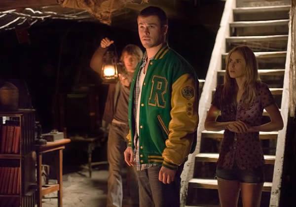 Chris Hemsworth The Cabin in the Woods Anna Hutchison Fran Kranz