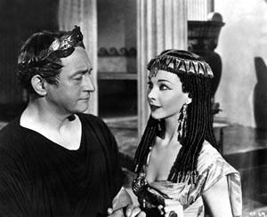 Claude Rains Vivien Leigh Caesar and Cleopatra