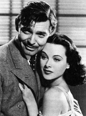 Clark Gable, Hedy Lamarr in Comrade X