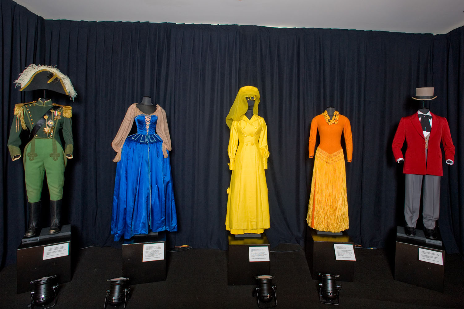 Dressed in Color: The Costumes