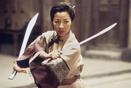 Michelle Yeoh in Crouching Tiger Hidden Dragon