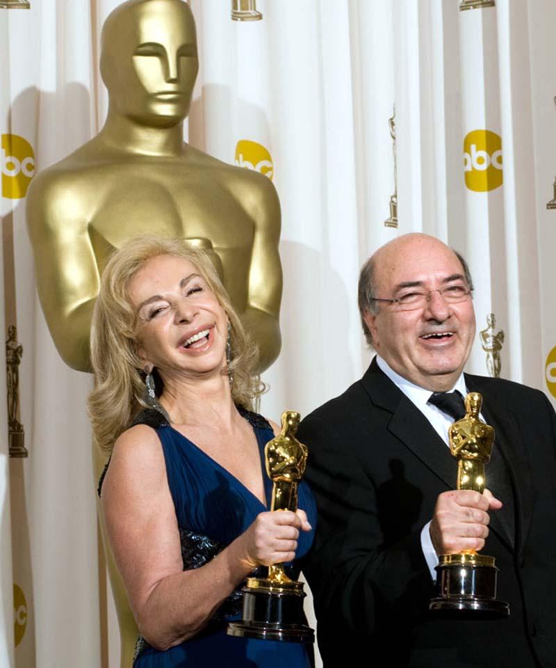 Dante Ferretti Francesca Lo Schiavo Oscar winners