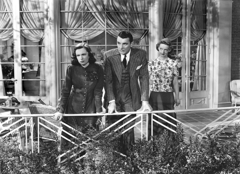 Geraldine Fitzgerald, George Brent, Bette Davis in Dark Victory