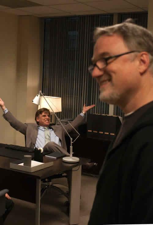 David Fincher, Aaron Sorkin, The Social Network
