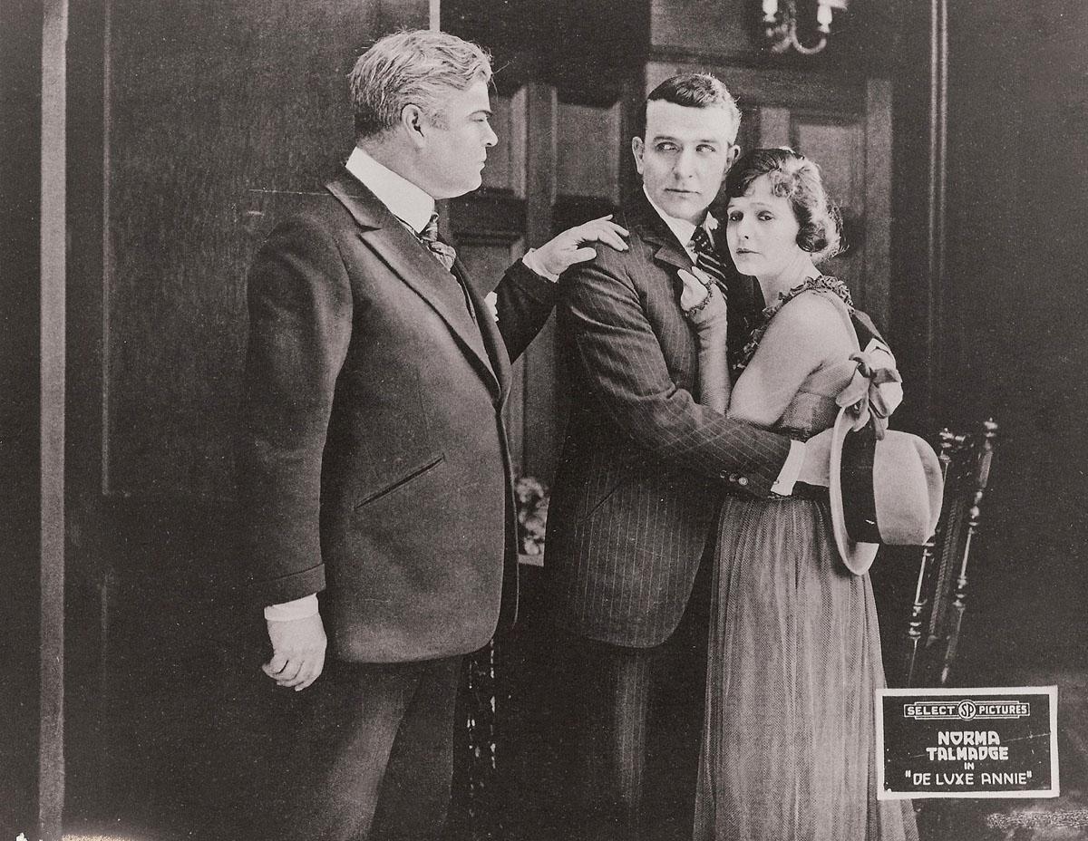 Norma Talmadge, Eugene O'Brien in De Luxe Annie