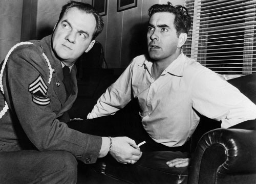 Karl Malden Tyrone Power Diplomatic Courier