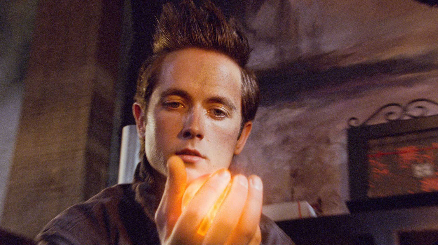 Justin Chatwin in Dragonball Evolution