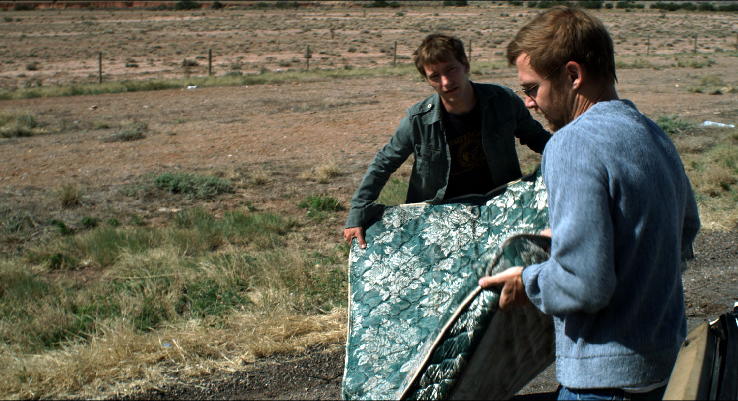 Brian Geraghty, Kel O'Neill in Easier with Practice