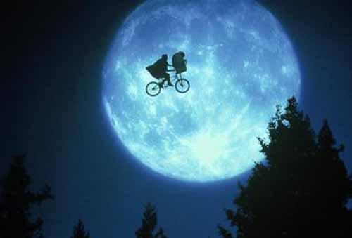 ET by Steven Spielberg