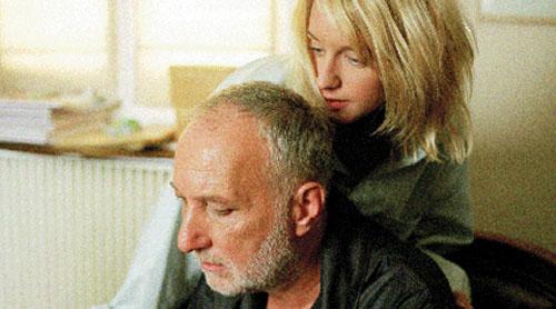 Ludivine Sagnier, Francois Berleand in A Girl Cut in Two