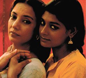 Shabana Azmi, Nandita Das in Fire