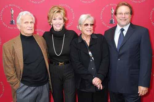 Jerome Hellman Jane Fonda Ann Roth Bruce Gilbert