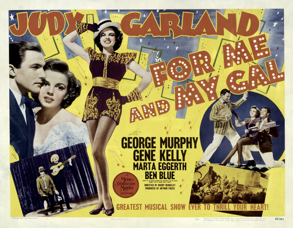 For Me and My Gal Judy Garland