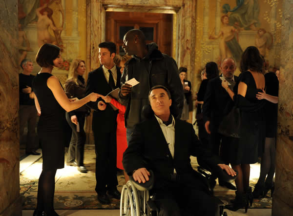 Francois Cluzet The Intouchables Omar Sy
