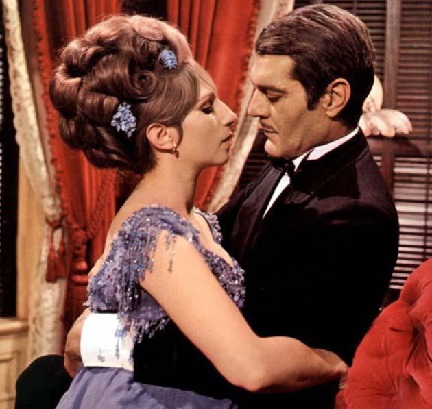 Funny Girl Barbra Streisand Omar Sharif