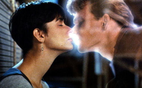 Demi Moore, Patrick Swayze in Ghost