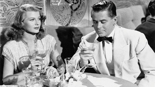 Rita Hayworth, Glenn Ford in Gilda