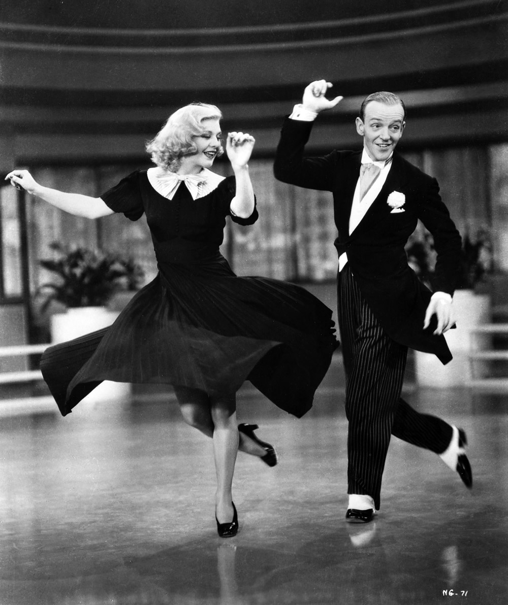 Swing Time movie: Ginger Rogers and Fred Astaire