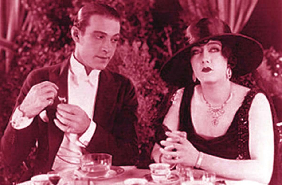 Gloria Swanson 1920s Rudolph Valentino Beyond the Rocks