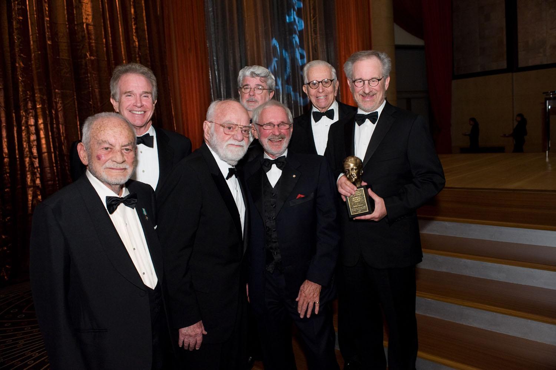 Dino de Laurentiis, Warren Beatty, Saul Zaentz, George Lucas, Norman Jewison, Walter Mirisch, Steven Spielberg