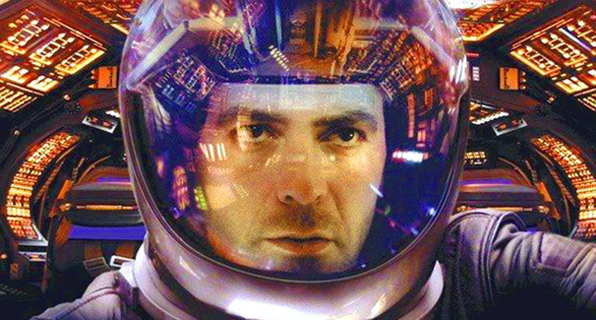 Gravity trailer George Clooney