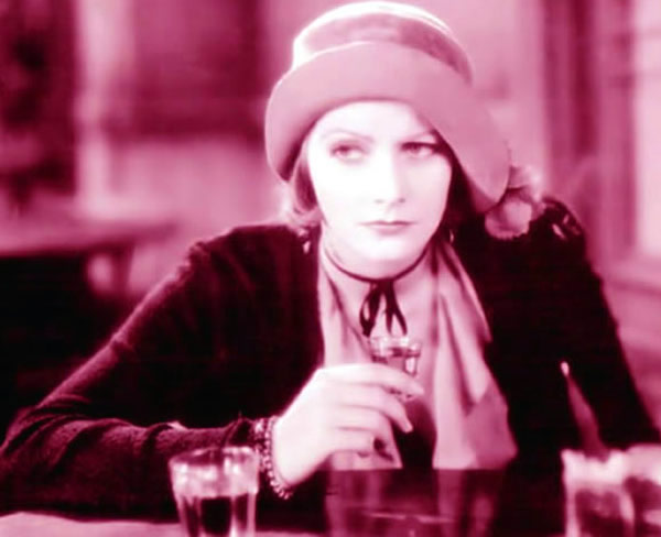 Actress Greta Garbo 1930 Anna Christie