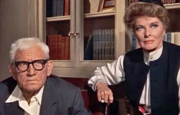 Guess Who's Coming to Dinner Spencer Tracy Katharine Hepburn. Old Hollywood Fade Out