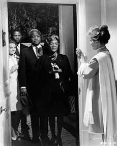 Guess Who's Coming to Dinner by Stanley Kramer, starring Spencer Tracy, Katharine Hepburn, Sidney Poitier, Katharine Houghton