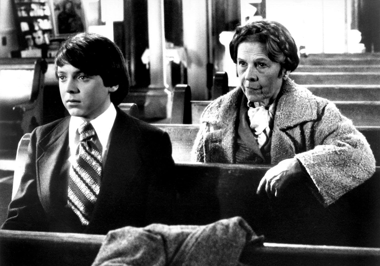 Bud Cort, Ruth Gordon in Harold and Maude