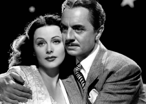 Hedy Lamarr, William Powell in The Heavenly Body