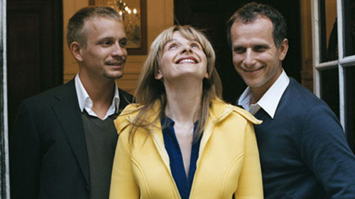 Juliette Binoche, Jeremie Renier, Charles Berling in Summer Hours