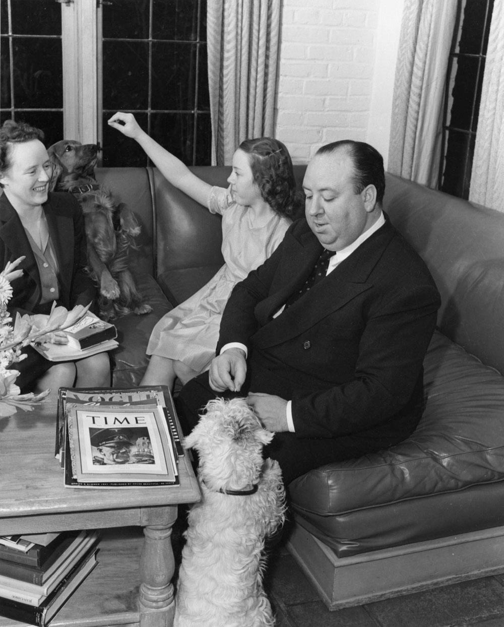 Alfred Hitchcock Alma Reville Patricia Hitchcock