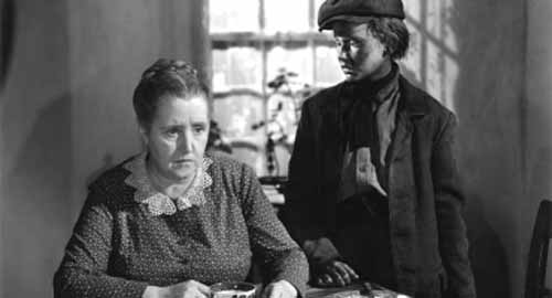 Sarah Allgood, Roddy McDowall in How Green Was My Valley