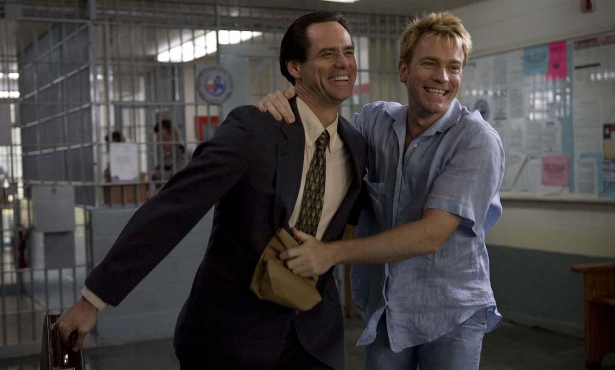 Ewan McGregor, Jim Carrey in I Love You Phillip Morris