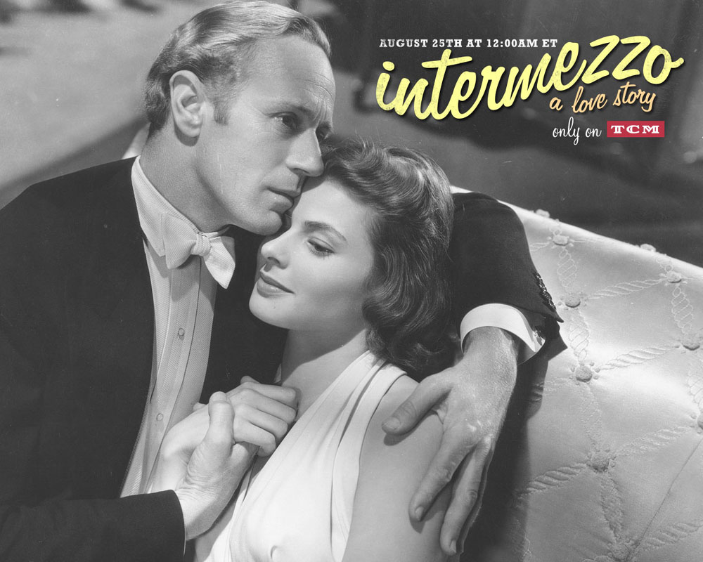 Ingrid Bergman Intermezzo Leslie Howard