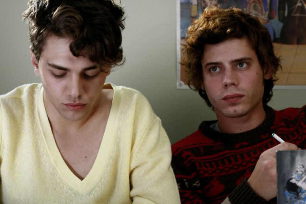 Xavier Dolan, François Arnaud in I Killed My Mother