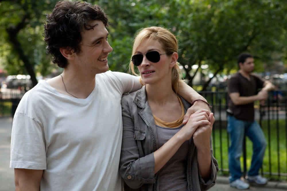 James Franco, Julia Roberts, Eat Pray Love