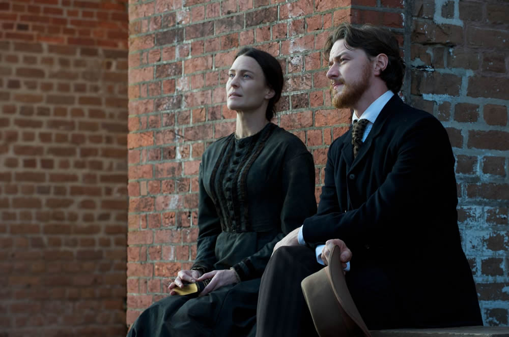 Robin Wright, James McAvoy, Robert Redford's The Conspirator