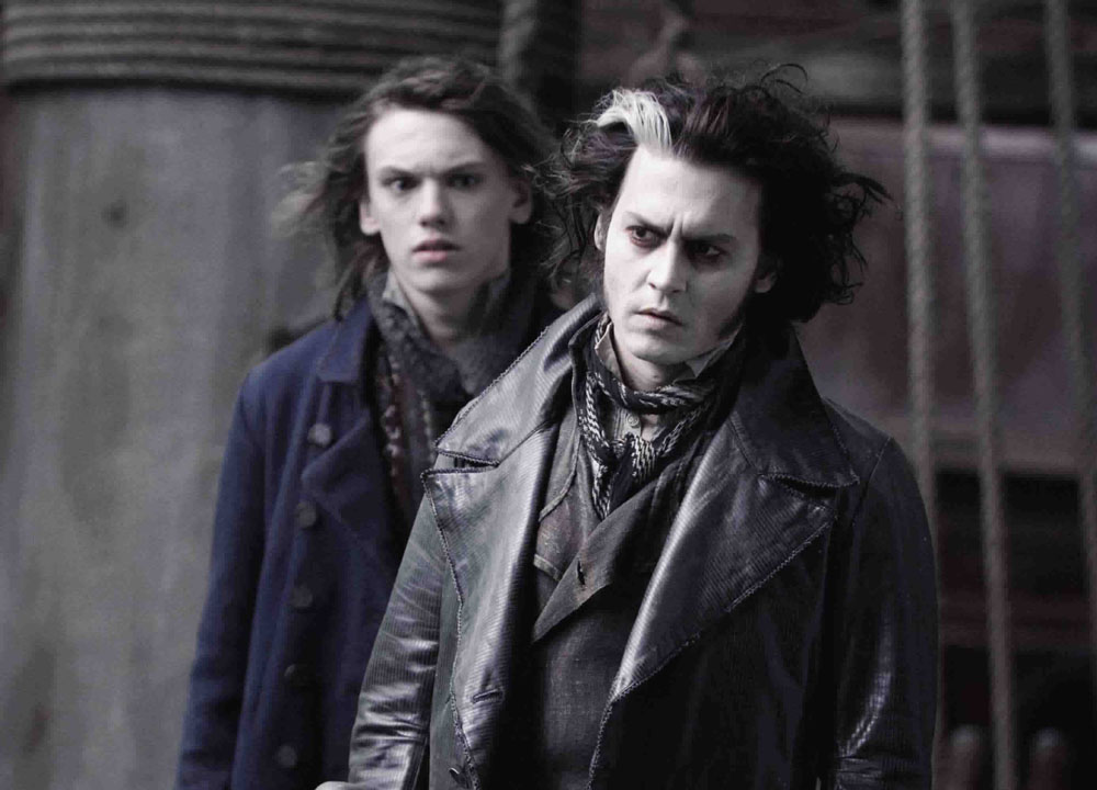 Jamie Campbell Bower Sweeney Todd: The Demon Barber of Fleet Street Johnny Depp