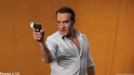 Jean Dujardin James Bond villain
