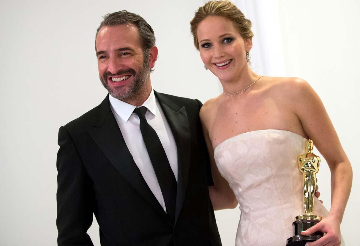 Jennifer Lawrence Jean Dujardin