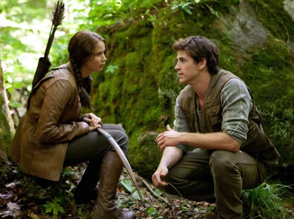 Jennifer Lawrence The Hunger Games Liam Hemsworth