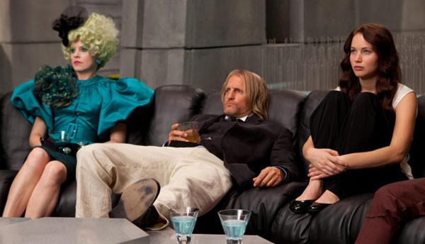 Jennifer Lawrence The Hunger Games Woody Harrelson Elizabeth Banks