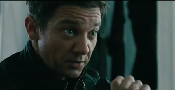 Jeremy Renner The Bourne Legacy trailer