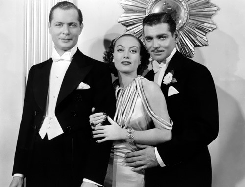 Robert Montgomery, Joan Crawford, Clark Gable, Forsaking All Others