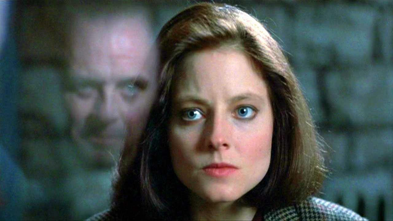 Anthony Hopkins Jodie Foster The Silence of the Lambs