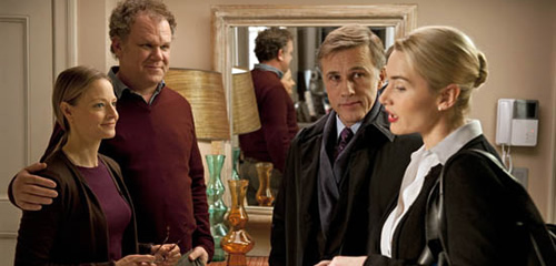 Carnage review: Jodie Foster John C. Reilly Kate Winslet Christoph Waltz Roman Polanski
