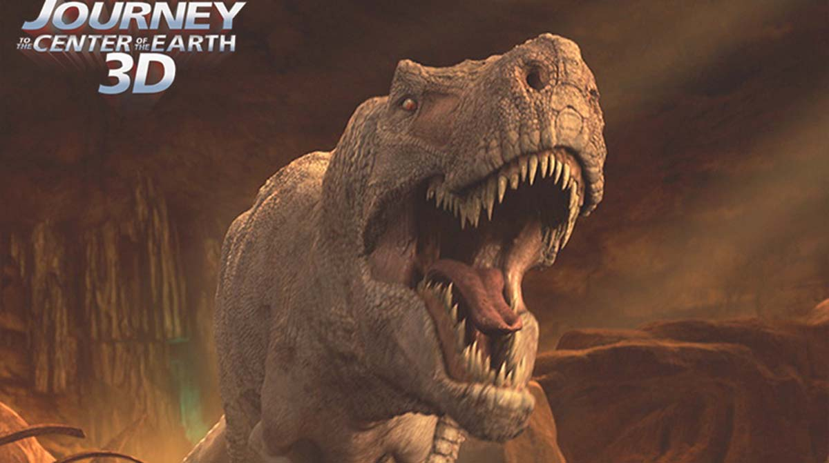 Journey to the Center of the Earth tyrannosaurus rex