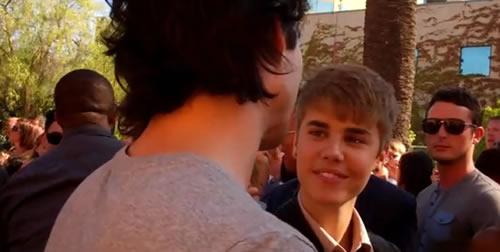 Justin Bieber, Ian Somerhalder, Teen Choice Awards 2011