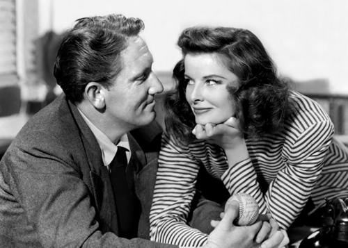 Woman of the Year Spencer Tracy Katharine Hepburn: George Stevens romantic comedy
